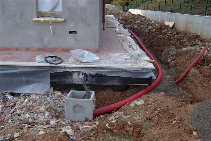 Impianti elettrici alghisi stefano - Impianto luci giardino ...